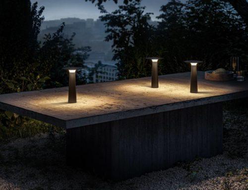 neue Outdoor-Akku-Leuchten